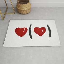 I Carry Your Heart with Me (I Carry It in My Heart) Rug
