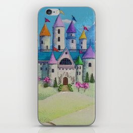 Colorful Princess Castle iPhone Skin