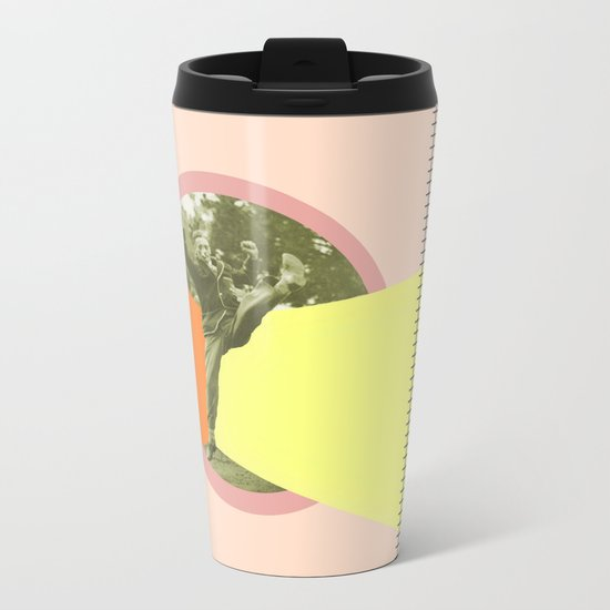 JUMPING AROUND Metal Travel Mug