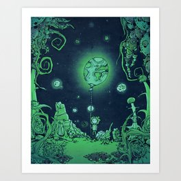 other dreams Art Print