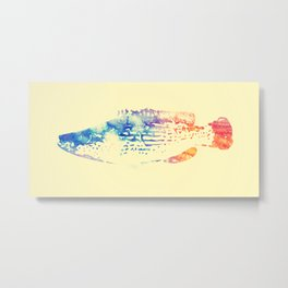 Little patronus - Fish print Metal Print
