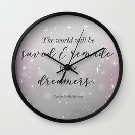 Empire of Storms | Aelin Galathynius Wall Clock