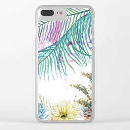 Hidden in Plain Sight Clear iPhone Case