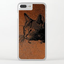 Cat20170501_by_JAMColorsSpecial Clear iPhone Case