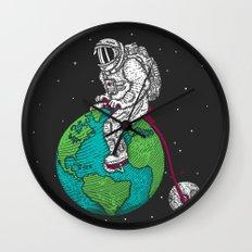 Ride the world Wall Clock