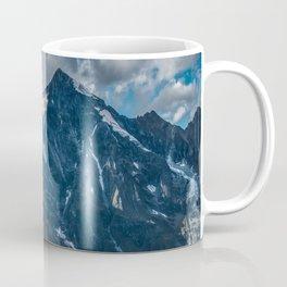 Early morning in majestic mountains Coffee Mug