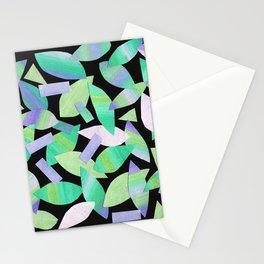 Leaf Litter (dark) Stationery Cards