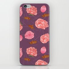 Carnations & Crickets iPhone & iPod Skin
