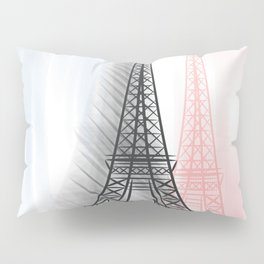 Eiffel Tower Pillow Sham