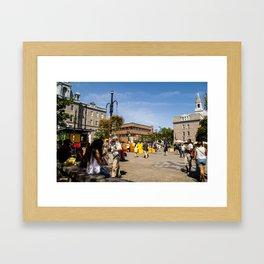 Mount Royal People Watching Framed Art Print