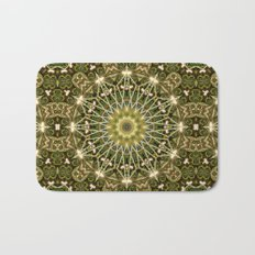 Geometric Forest Mandala Bath Mat