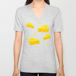Cheesy Love Unisex V-Neck
