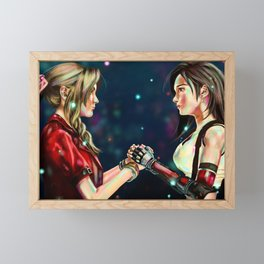 FF7 Remake: Friends Framed Mini Art Print
