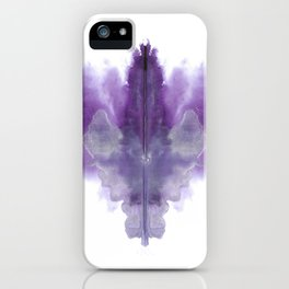 Lilac Ink iPhone Case