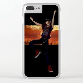 Ravi Clear iPhone Case