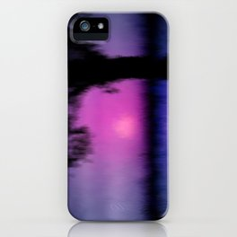 Good bye day. iPhone Case