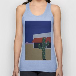 Boutique With Cactus Unisex Tank Top