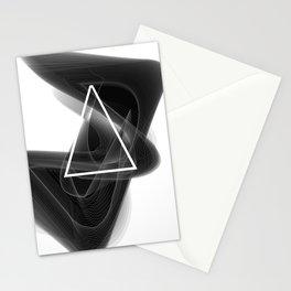 Dark Math. Triangle. Stationery Cards