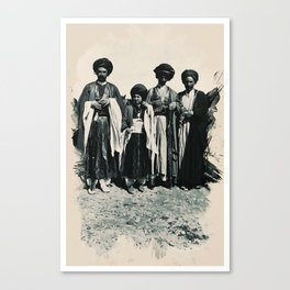 Kurdish People from the Past 1911 Canvas Print