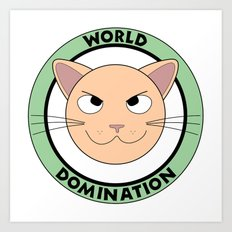 World Domination III Art Print