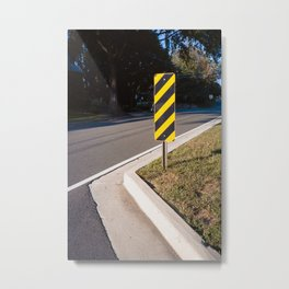 Street architecture Metal Print