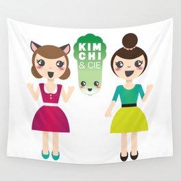 Alexandra et Kim! Wall Tapestry