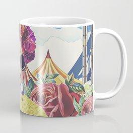 Steampunk Floral Coffee Mug
