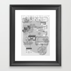 Mix And Match Framed Art Print