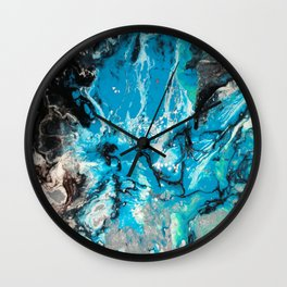 Water Explosion Wall Clock