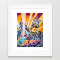 transistor Framed Art Prints featuring Transistor by Sienna Coppa