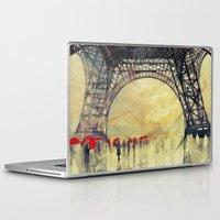 takmaj Laptop & iPad Skins featuring Winter in Paris by takmaj