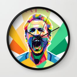 Harry Kane World Cup 2018 Edition Wall Clock