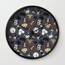 Canine Collective Wall Clock
