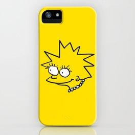 Little Lisa iPhone Case