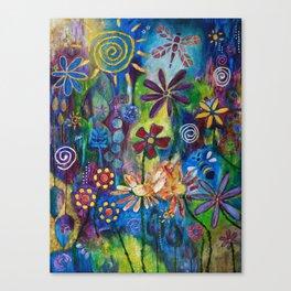 Peace, Love & Joy Canvas Print