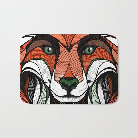 Fox // Colored Bath Mat