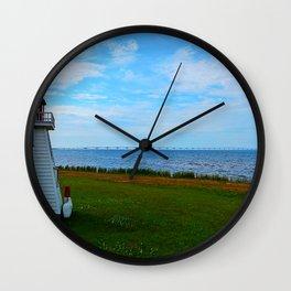 Acadian Playhouse in PEI Wall Clock