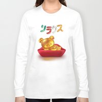 relax Long Sleeve T-shirts featuring Relax  by Etienne Chaize