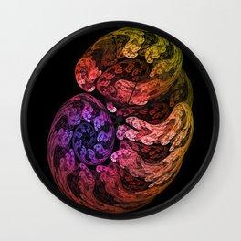 Fractal embryo Wall Clock
