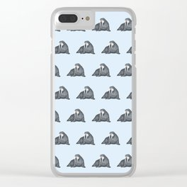 Frank Wallace Clear iPhone Case