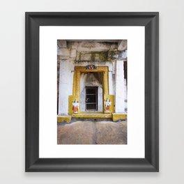 India Doors Framed Art Print