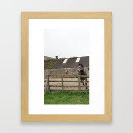 Foo-oood! Framed Art Print