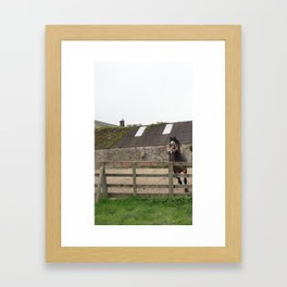 Foo-oood! Framed Art Print