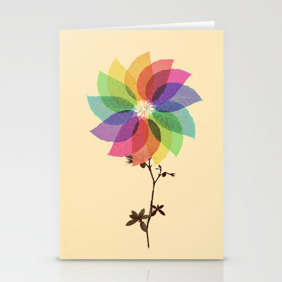 The windmill in my mind Stationery Cards