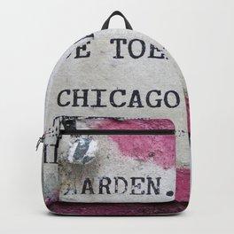 Urban poetry Backpack