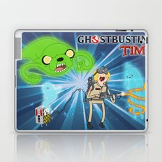 Ghostbusting Time Laptop & iPad Skin