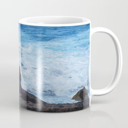 Ocean lover, meditation in front of the sea Coffee Mug