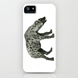 Spotted Hyena iPhone Case