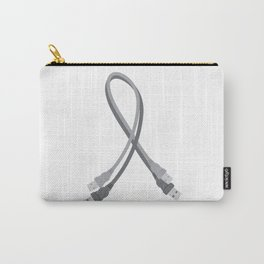 USB Awareness Ribbon Carry-All Pouch