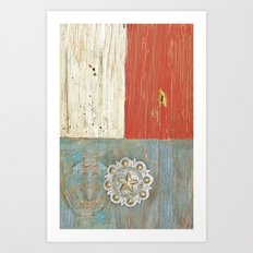 Concho Art Print